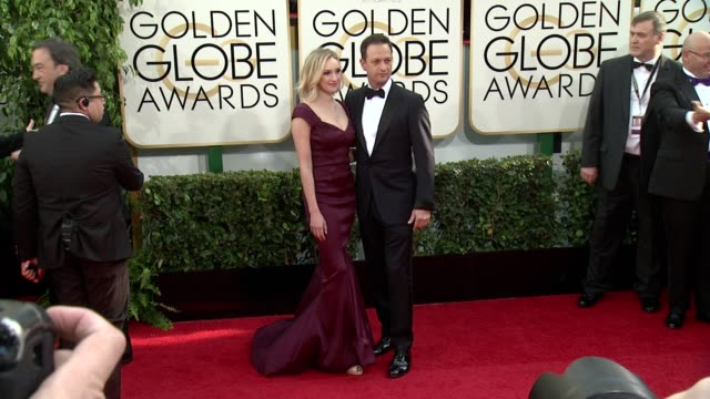 josh charles at the 71st annual golden globe awards arrivals at the beverly hilton hotel on in beverly hills california - josh charles stock videos and b-roll footage