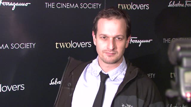 josh charles at the magnolia pictures and the cinema society present premiere of two lovers at new york ny - josh charles stock videos and b-roll footage