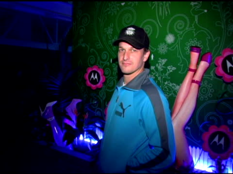 josh charles at the motorola's 'head and body' launch at y apartment in new york new york on october 19 2005 - josh charles stock videos and b-roll footage
