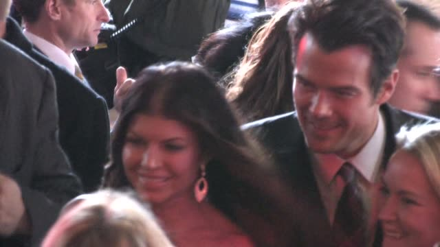 josh duhamel fergie at el capitan theatre at the celebrity sightings in los angeles at los angeles ca - fergie duhamel stock videos and b-roll footage