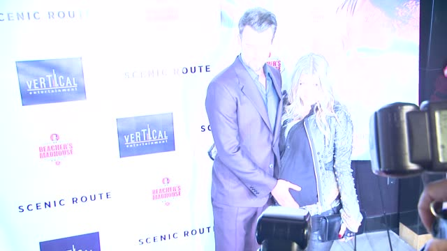 josh duhamel fergie duhamel at scenic route los angeles premiere on 8/20/2013 in hollywood ca - fergie duhamel stock videos and b-roll footage
