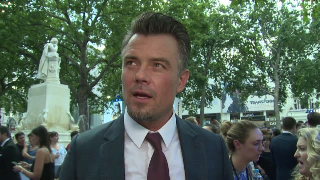 josh duhamel on michael bay and the future of transformers on june 18 2017 in london england - transformer stock videos & royalty-free footage