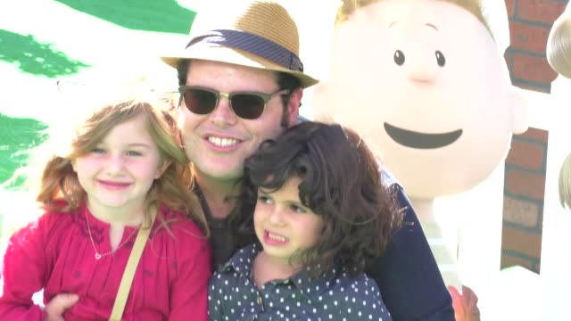 Josh Gad at The Peanuts Movie Premiere at Regency Village Theatre in Westwood on November 01 2015 in Los Angeles California