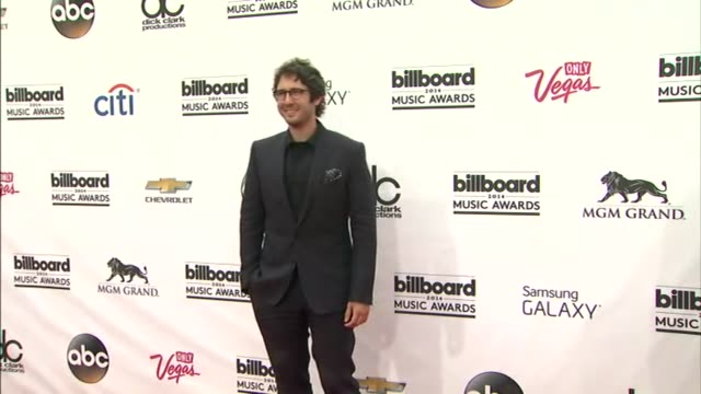 Josh Groban at the 2014 Billboard Music Awards Arrivals at the MGM Grand Garden Arena on May 18 2014 in Las Vegas Nevada