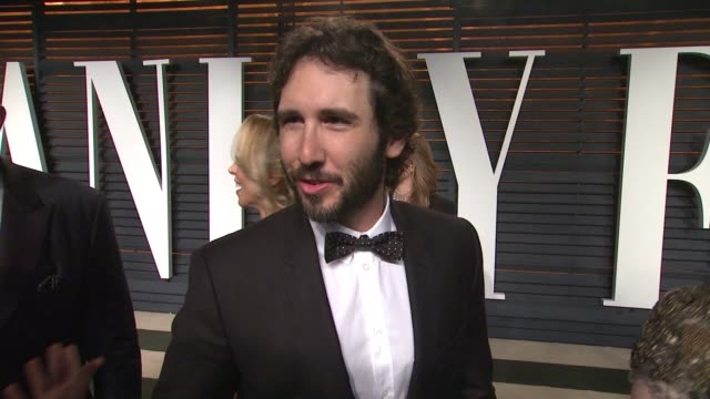 interview josh groban at the 2015 vanity fair oscar party hosted by graydon carter at wallis annenberg center for the performing arts on february 22... - wallis annenberg center for the performing arts stock videos and b-roll footage