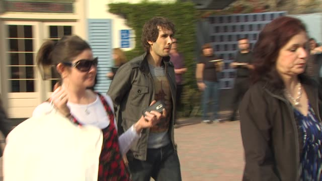 josh groban at the we are the world 25th anniversary recording for haitian earthquake relief at los angeles ca - 25th anniversary stock videos and b-roll footage