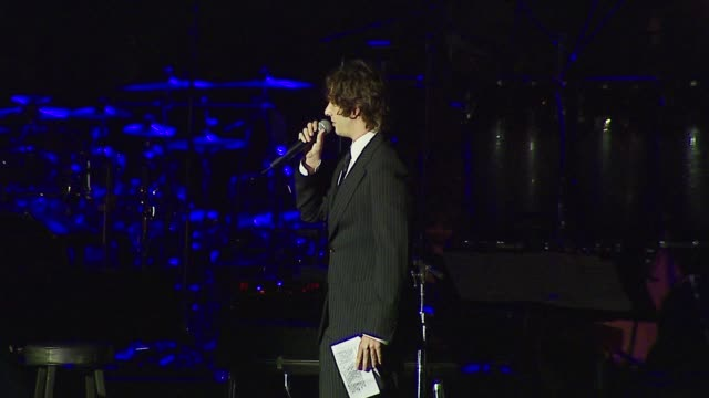 josh groban introduces velvet revolver at the bmg us president charles goldstuck honored at the city of hope's spirit of life award gala at pacific... - josh charles stock videos and b-roll footage
