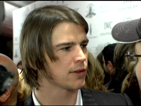 Josh Hartnett at the 'Lucky Number Slevin' New York Premiere at the Ziegfeld Theatre in New York New York on March 21 2006