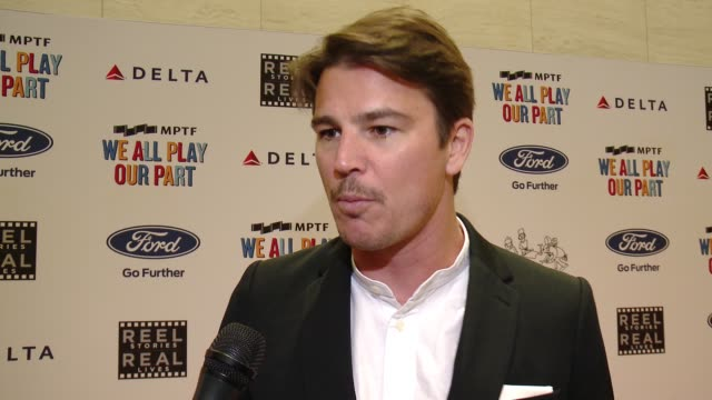 INTERVIEW Josh Hartnett on the story he will be sharing why it was important for him to participate and what it means to have young Hollywood support...