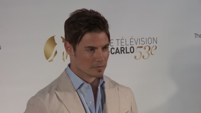 josh henderson at 53rd montecarlo television festival day 1 josh henderson at 53rd montecarlo television on june 10 2013 in montecarlo monaco - day 1 stock videos and b-roll footage