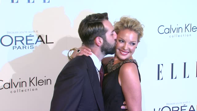 Josh Kelly Katherine Heigl at the ELLE's 18th Annual Women in Hollywood Tribute at Beverly Hills CA
