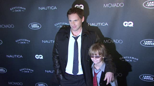 josh lucas and eightyearold honoree wyatt workman at the gqs gentlemens ball 2011 at new york ny - eight ball stock videos & royalty-free footage