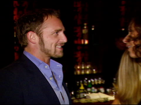 josh lucas and minnie driver at the oxfam annual fundraiser at esquire house 360 in beverly hills california on november 29 2006 - minnie driver stock videos and b-roll footage