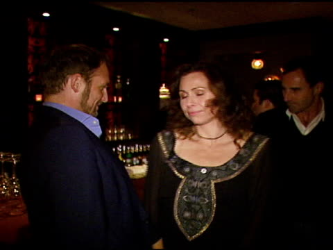 josh lucas minnie driver liz phair and kevin omalley publisher of esquire at the oxfam annual fundraiser at esquire house 360 in beverly hills... - minnie driver stock videos and b-roll footage