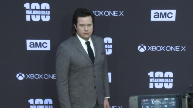 Josh McDermitt at the AMC's The Walking Dead 100th Episode Season 8 Special Premiere Screening at The Greek Theatre on October 22 2017 in Los Angeles...