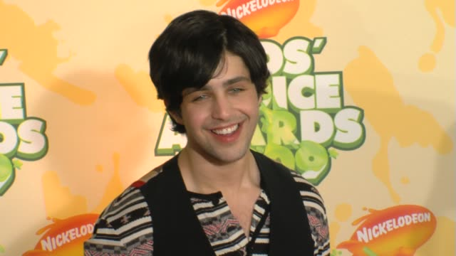 Josh Peck at the Nickelodeon's 22nd Annual Kids' Choice Awards at Los Angeles CA