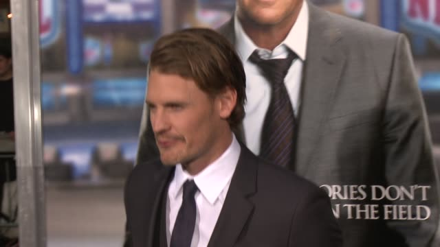 josh pence at draft day los angeles premiere at regency village theatre on april 07 2014 in westwood california - regency village theater stock videos and b-roll footage
