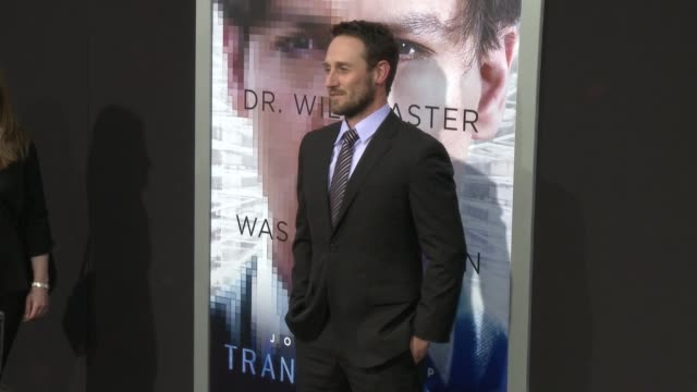josh stewart at the transcendence los angeles premiere at regency village theatre on april 10 2014 in westwood california - regency style stock videos and b-roll footage