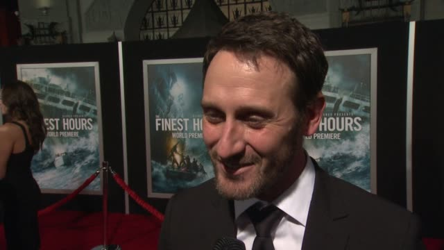 interview josh stewart on what it means to have his movie premiere at such an iconic theater on if he's excited to see it in imax on what percentage... - tcl chinese theater stock-videos und b-roll-filmmaterial