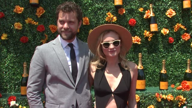 joshua jackson diane kruger at veuve clicquot polo classic 2015 at liberty state park on may 30 2015 in jersey city new jersey - jackson new jersey stock videos and b-roll footage