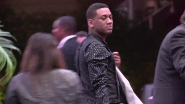 joshua ledet leaving american idol season 11 grand finale after party at w hotel in los angeles 05/23/12 - american idol stock videos and b-roll footage