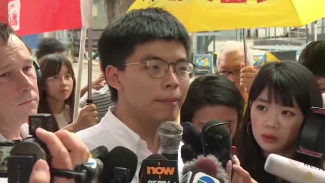 HKG: Joshua Wong warns more protests if Carrie Lam doesn't resign