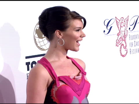 joss stone at the denise rich marks 10th year of the gp foundation with an evening of stars and music at the 2007 angel ball at marriott marquis... - marriott marquis new york stock videos & royalty-free footage