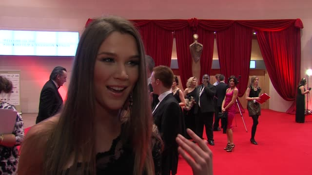 Joss Stone on what sets Irish films apart on wanting to do more acting at the The Irish Film Television Awards at Dublin