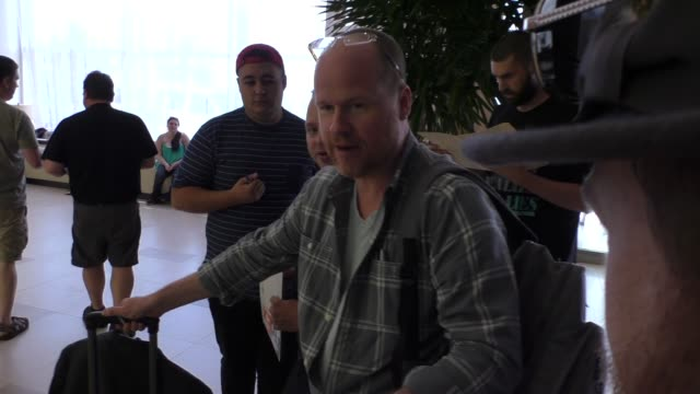 Joss Whedon at ComicCon Celebrity Sightings on July 09 2015 in San Diego California