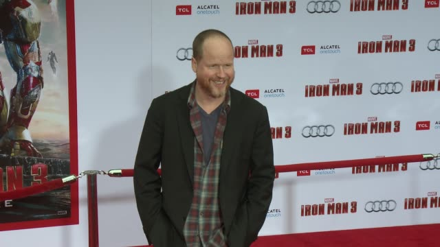 Joss Whedon at Iron Man 3 World Premiere 4/24/2013 in Hollywood CA