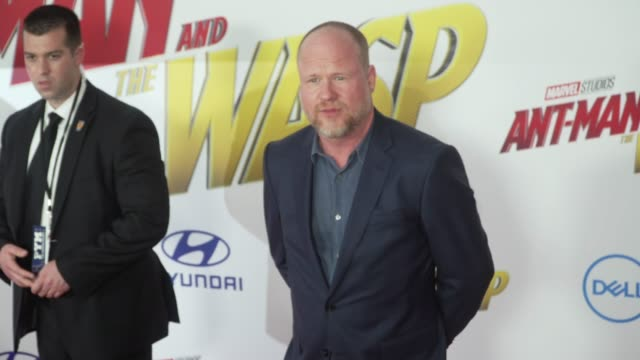 Joss Whedon at the 'AntMan and the Wasp' World Premiere at the El Capitan Theatre on June 25 2018 in Hollywood California