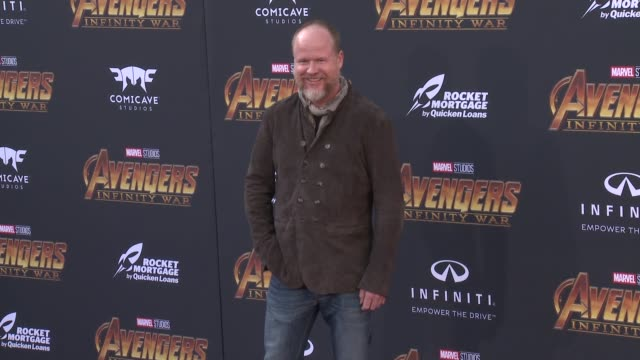 Joss Whedon at the Avengers Infinity War World Premiere on April 23 2018 in Hollywood California