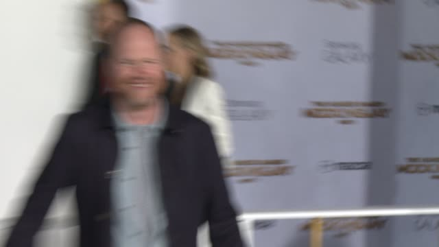 Joss Whedon at 'The Hunger Games Mockingjay Part 1' Los Angeles Premiere at Nokia Theatre LA Live on November 17 2014 in Los Angeles California