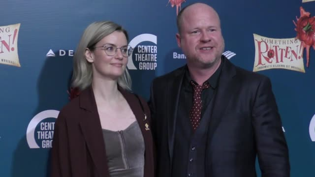 Joss Whedon at the Opening Night Of 'Something Rotten' on November 21 2017 in Los Angeles California