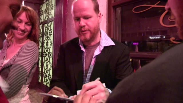 Joss Whedon greets fans at St Felix in Hollywood 04/04/12 Joss Whedon greets fans at St Felix in Hollywood 0 on April 04 2012 in Los Angeles...
