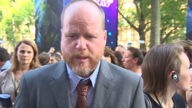 INTERVIEW Joss Whedon on the Marvel universe expanding working with James Gunn filming at the new 'Advengers' film at 'Guardians of the Galaxy' UK...