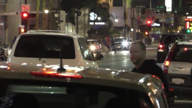 Joss Whedon outside Katsuya Restaurant in Hollywood in Celebrity Sightings in Los Angeles