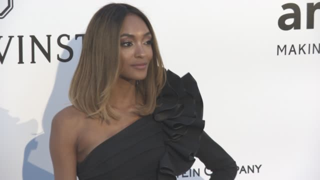 Jourdan Dunn at amfAR's 23rd Cinema Against AIDS Gala Arrivals at Hotel du CapEdenRoc on May 19 2016 in Cap d'Antibes France