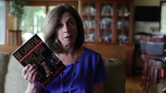 journalist diane dimond releases a new version of her book be careful who you love inside the michael jackson case 10 years after the death of the... - michael jackson stock videos and b-roll footage