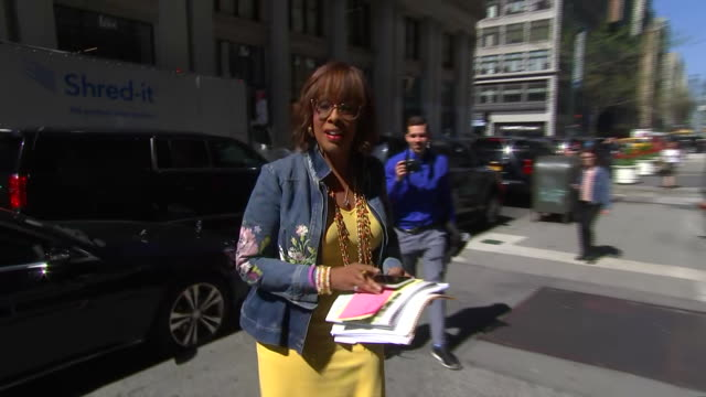 journalist gayle king arrives at the time 100 gala on april 23, 2019 in new york city. - gayle king stock videos & royalty-free footage