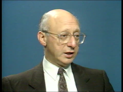 reaction; england, london gerald kaufman mp interview sof london tass offices soviet journalists at work and speaking - gerald kaufman stock videos & royalty-free footage