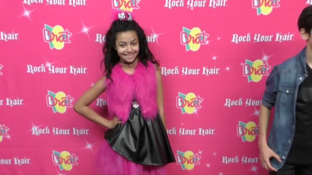 journey slayton at the rock your hair presents - rock back to school concert and party at avalon on september 30, 2017 in hollywood, california. - moderne rockmusik stock-videos und b-roll-filmmaterial