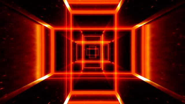 デジタルの地獄の旅。単発 - 長方形点の映像素材/bロール