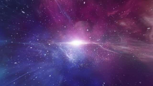 journey through galaxy. - glowing stock videos & royalty-free footage
