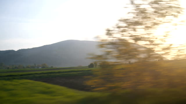 journey through the picturesque countryside - country road stock videos & royalty-free footage