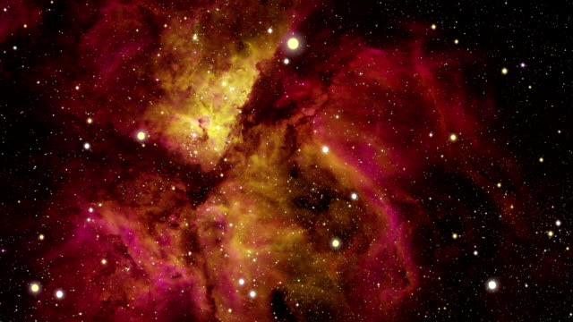 journey to the carina nebula - nebula stock videos & royalty-free footage