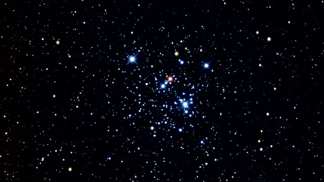 journey to the jewel box, open star cluster - star field stock videos & royalty-free footage