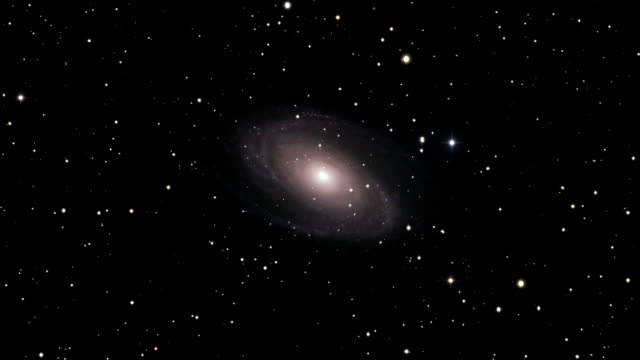 journey to the m81 galaxy - galaxy stock videos & royalty-free footage
