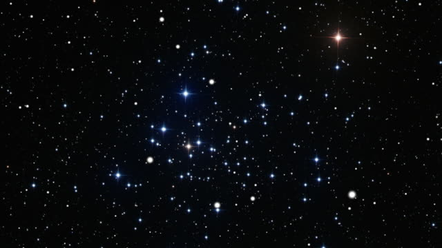 journey to the open star cluster ngc2516 - star field stock videos & royalty-free footage