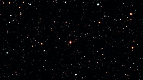 vídeos y material grabado en eventos de stock de journey to vy canis majoris - campo de estrellas